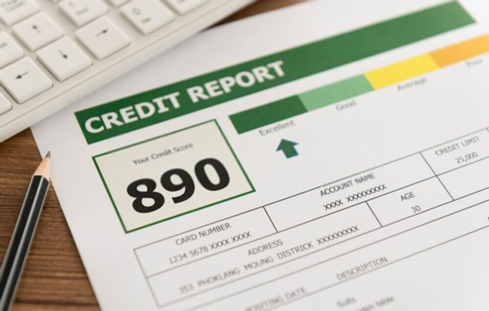 Credit Report 890 Point